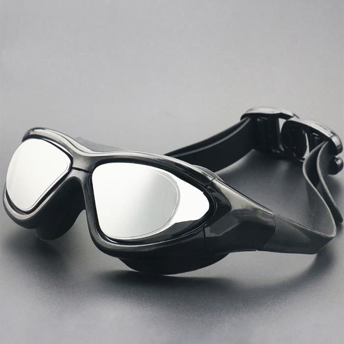 cda9e89658 Anti Brouillard UV Lunettes De Natation Pour Hommes Femmes Sport Lunettes  De Natation Miroir