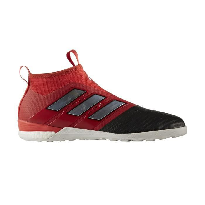 Chaussures football adidas ACE Tango 17+ Purecontrol IN Rouge Prix
