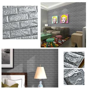 papier peint autocollant brique achat vente pas cher. Black Bedroom Furniture Sets. Home Design Ideas