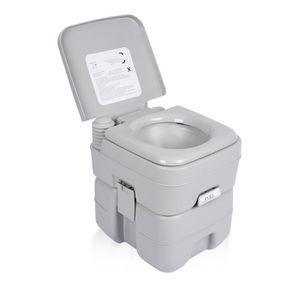 WC - TOILETTES Excelvan 20L WC Portable Toilettes Portables Chimi