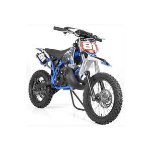 MOTO MOTO CROSS 50cc 12/14 - Bleu - sans montage et mis