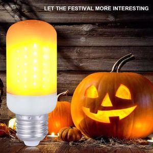 AMPOULE - LED Ampoule flamme LED E27 LED flamme effet scintillan