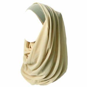 ECHARPE - FOULARD Hijab pour Femmes Mousseline Foulard Écharpe Turba a7bc306d1d2