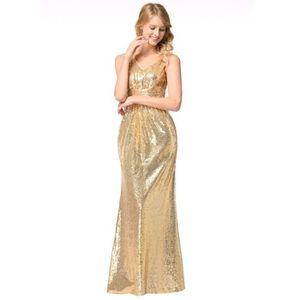 c8eecba2069 Femmes V-cou Robe portefeuille SOIRÉE robe longue fête Robes Paillettes  2Q0509 Taille-36