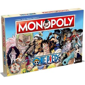 JEU SOCIÉTÉ - PLATEAU WINNING MOVES Monopoly One Piece - Version françai