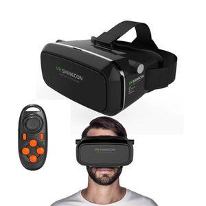 LUNETTES 3D XCSOURCE® 3D Lunettes Réalité Virtuelle Gamepad Vi