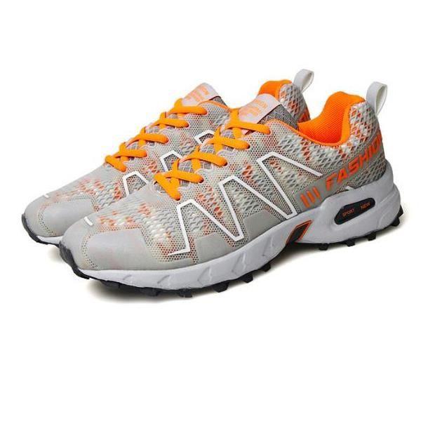 Chaussures de course à chaussures en plein air chaussures de sport respirantes anti-usure hors routecourse (41 yards)