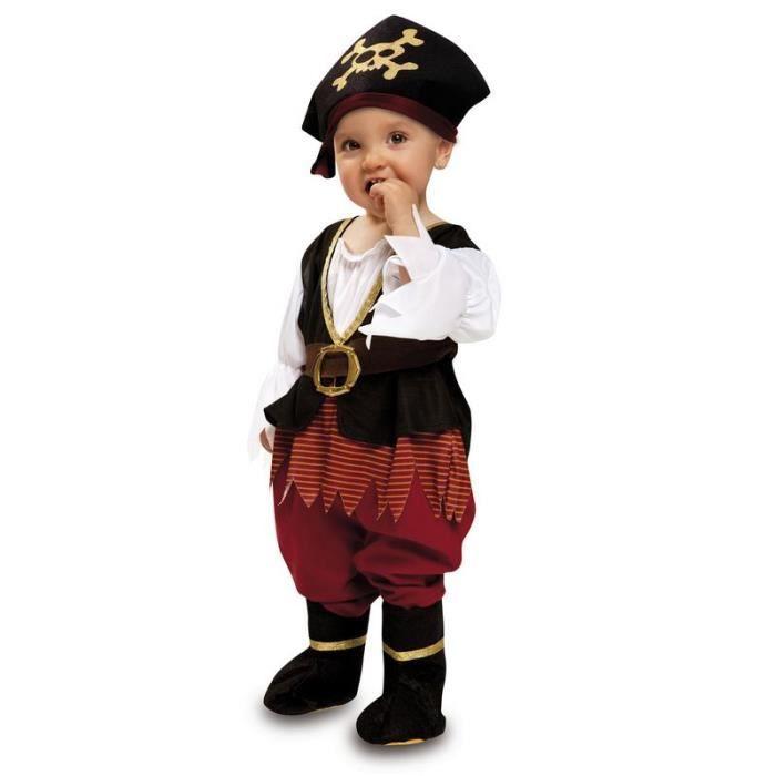 DÉGUISEMENT - PANOPLIE Déguisement Pirate Bébé Fille- Taille 7-12 mois