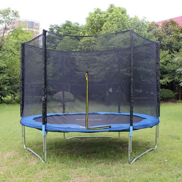 trampoline jardin ext rieur trampoline avec filet de. Black Bedroom Furniture Sets. Home Design Ideas