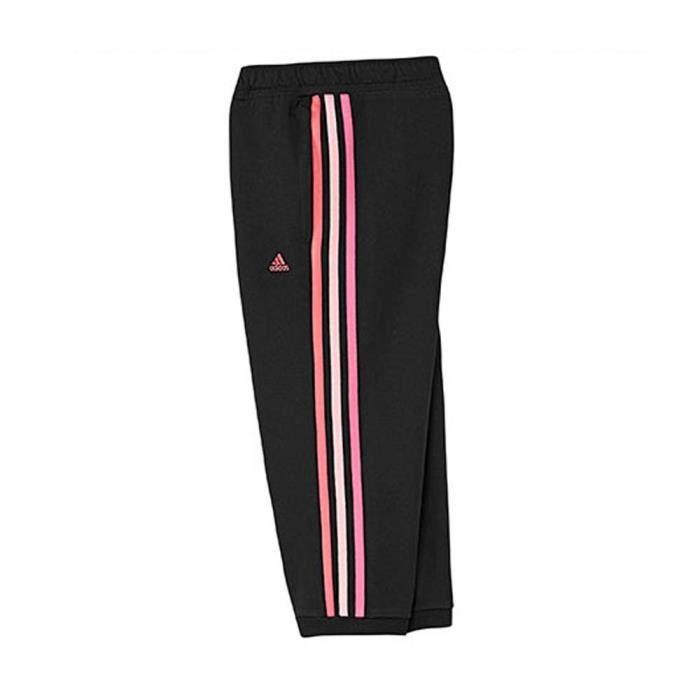 20b7c36cdaba4 Corsaire Adidas YG Ess 34 pant ... Noir Noir - Achat   Vente ...
