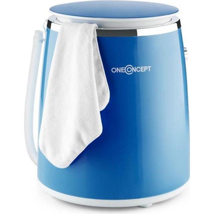 mini machine à laver avec essoreuse pour camping, studio. (top