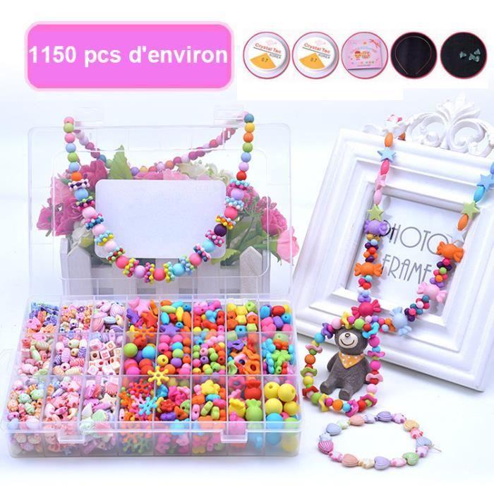 e17264a9a15 Coffret creation bijoux enfant - Achat   Vente jeux et jouets pas chers