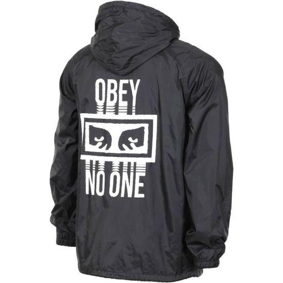 Homme One Obey Noir No Veste wTZaq4a