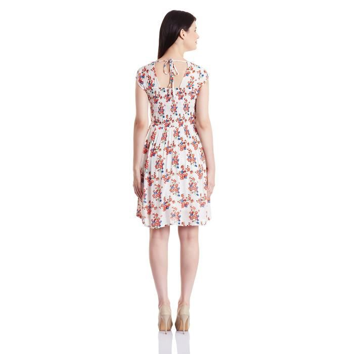 Womens Rayon A-line Dress 1OMMZG Taille-34