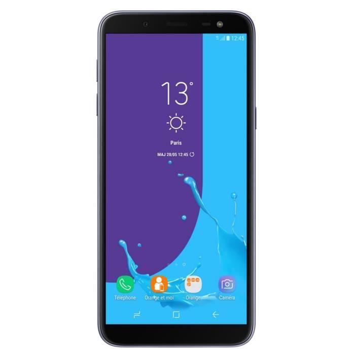 Samsung Galaxy J6 Bleu argenté