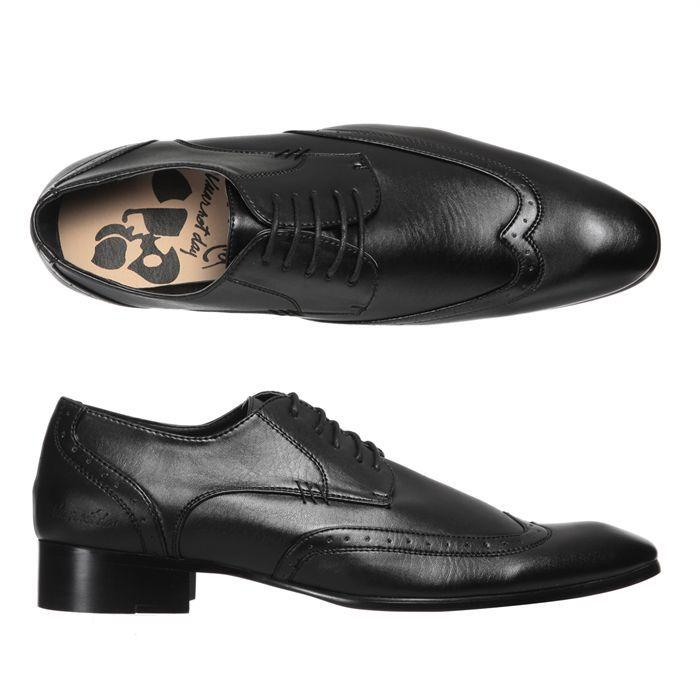 Vente Derby Vimic Vuarnet Chaussures Noir Homme Achat BoWedQxErC