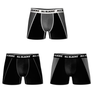 BOXER - SHORTY ALL BLACKS Lot de 3 Boxers Homme All Blacks Soft