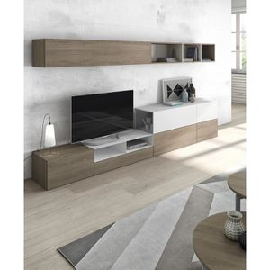 Meuble Tv Mural Amy Atylia Editions Matiere Melamine Achat