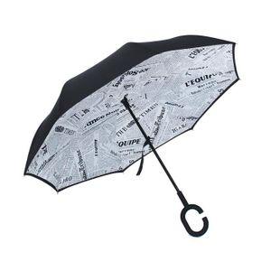 Mme Uv Protection Solaire Lunettes de Soleil Pliant Pliant Parapluie Parapluie D'Eau,C