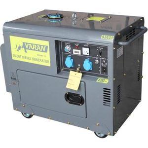 GROUPE ÉLECTROGÈNE Générateur électrique Diesel SILENCIEUX 5.5 KW …