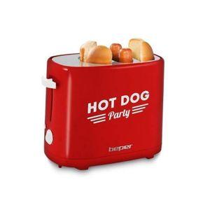 MACHINE À HOT DOG BEPER 90488 Machine à hot dog - Rouge