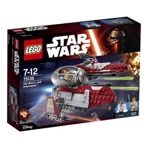 VAISSEAU À CONSTRUIRE Lego Star Wars - 75135 - Intercepter D'obi-wan's J