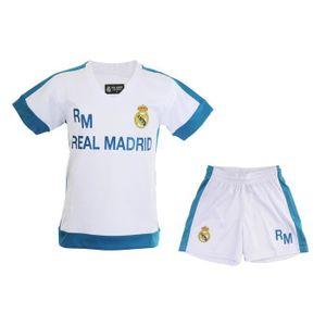 2342284159d51 TENUE DE FOOTBALL Mini Kit Real Madrid Blanc Junior