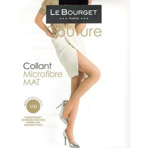 COLLANT Collant Le Bourget MICROFIBRE 15D noir