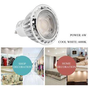 AMPOULE - LED 4X spotlight ampoule LED GU10 6W blanc froid 6000K