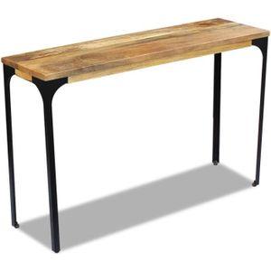 TABLE BASSE Table console Bois de manguier 120 x 35 x 76 cm