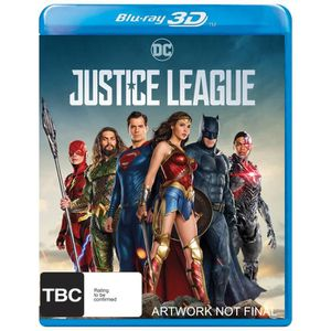 BLU-RAY FILM Justice League Bluray 3D
