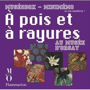 Livre 6-9 ANS A pois et à rayures au Musée d'Orsay
