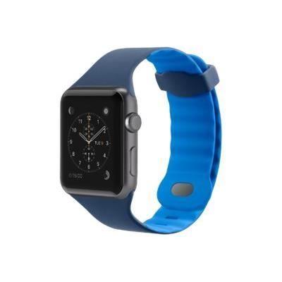BELKIN Sport Bracelet de montre - Apple Watch (38 mm) - Bleu marine