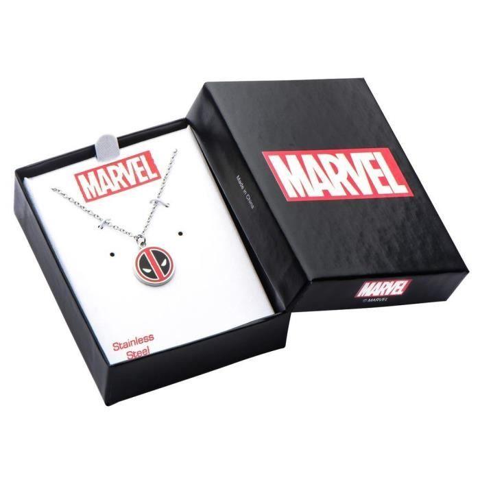 Officiellement sous licence Marvel Deadpool Pendentif avec chaîne