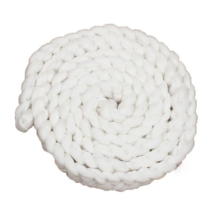 blanc tapis corde twist en crochet accessoire de photographie pour b b nouveau n achat. Black Bedroom Furniture Sets. Home Design Ideas