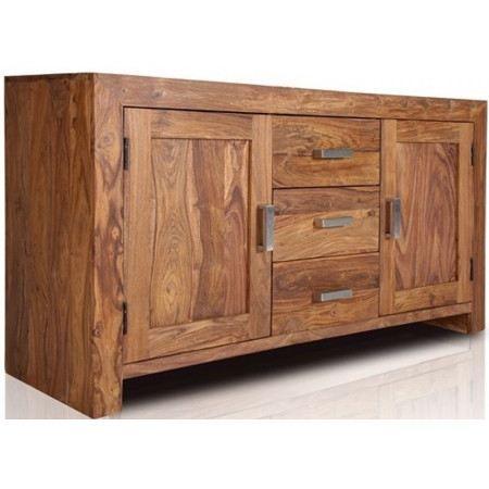 Buffet design Niagara en bois Sheesham 145cm - Achat / Vente ...