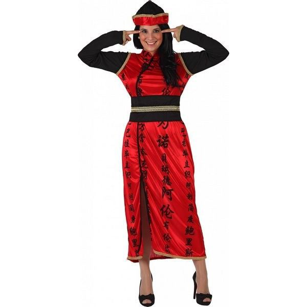 Deguisement robe chinoise femme