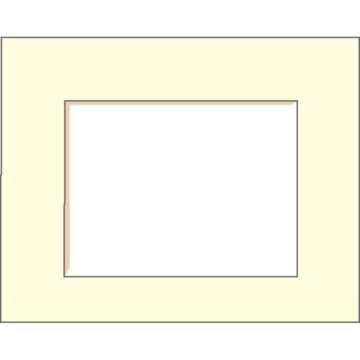 brio passe partout 40x50 cm ouverture 25x38 cm blanc cass. Black Bedroom Furniture Sets. Home Design Ideas