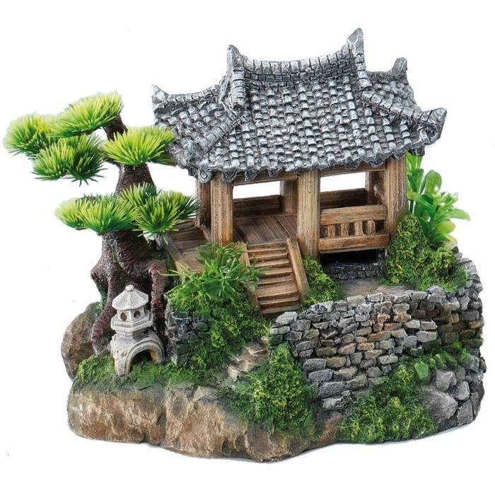 Aqua della d cor korean cottage 22 5x19x18 5cm pour for Decoratie spullen