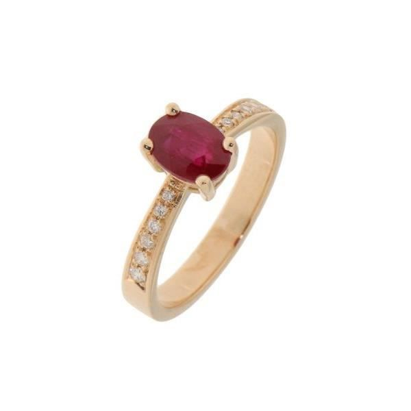 bague or rubis cdiscount