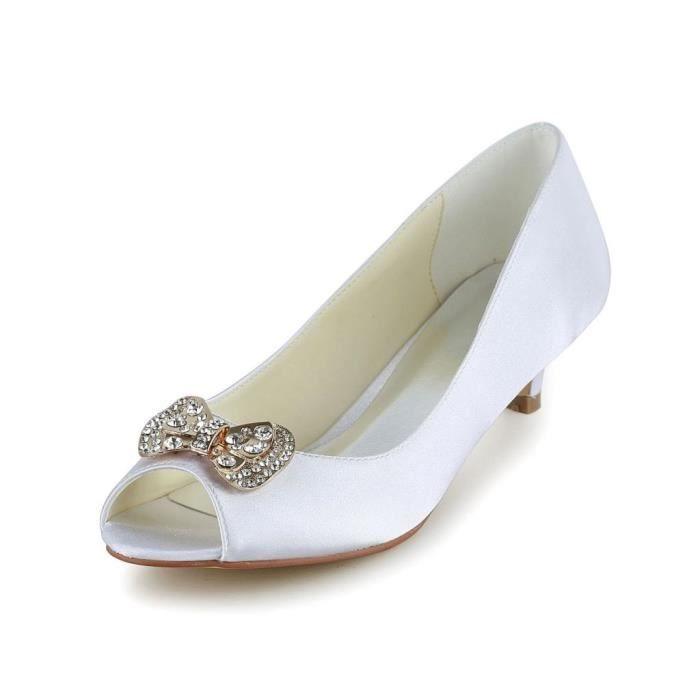 Jia Jia Wedding 0116 chaussures de mariée mariage Escarpins pour femme elKmaLV