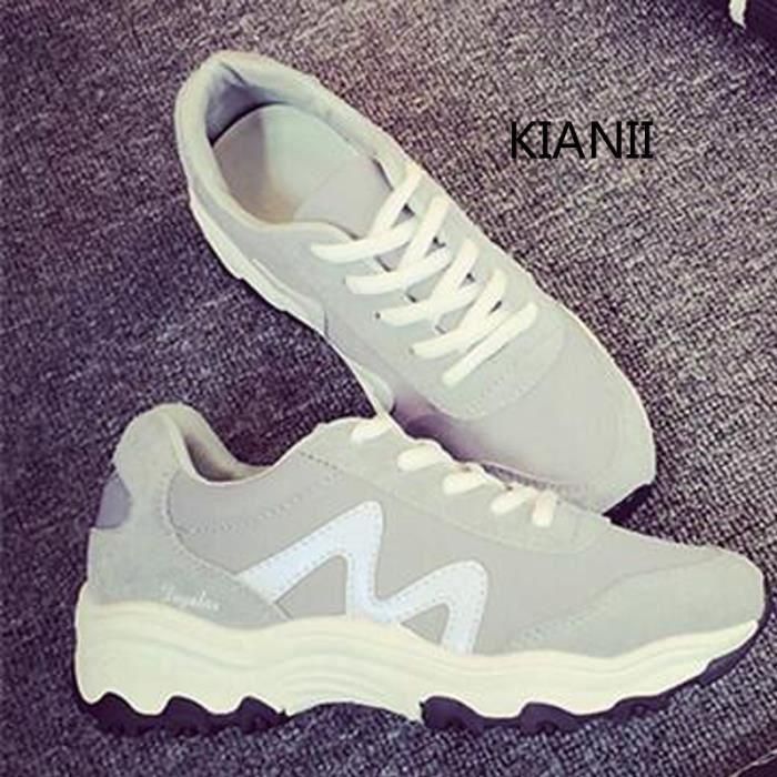 8f7a2db195d58 Kiabi-Baskets Femme Qualité chaussures Sure Gris - Achat   Vente ...