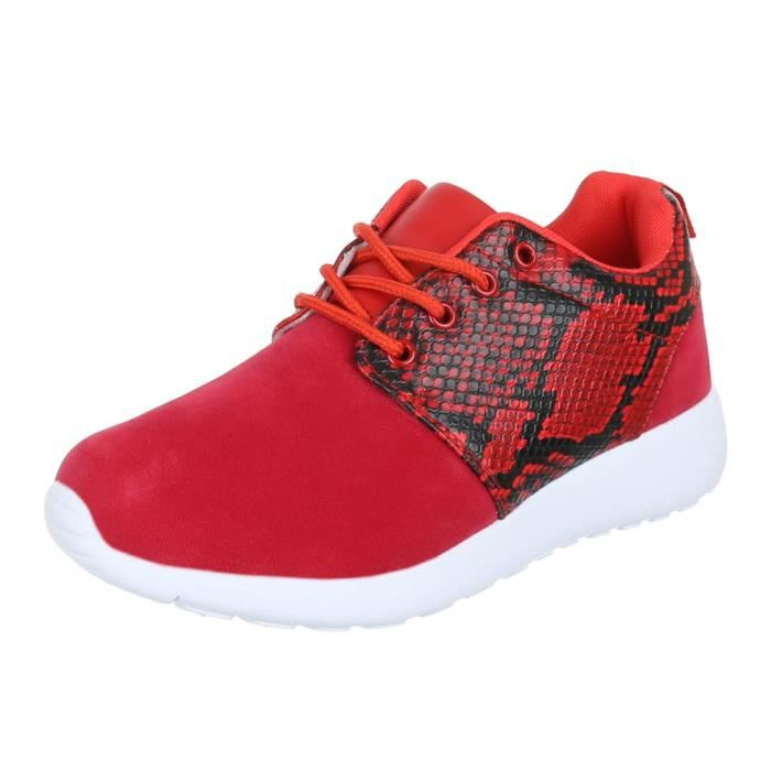 Chaussures femmes sneakers Basket sneakers rose rb28jS9a9M