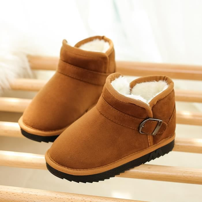be309e19458 Bottes de neige classiques pour enfants et chaussures en coton ...