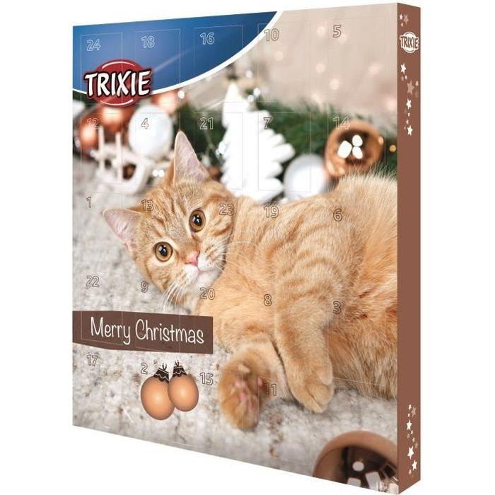 Trixie calendrier de l 39 avent marron pour chat achat vente friandise trixie calendrier de - Herbe a chat seche ...