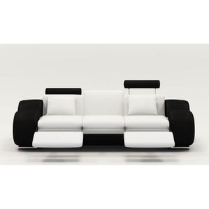 Canape relax cuir achat vente canape relax cuir pas - Canape relax cuir blanc ...