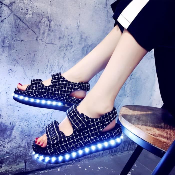 Chaussures de chaussures lumineuses chaussures chaussures chaussures homme et femme lvmYrRS6Q