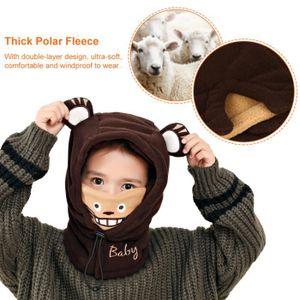 ... BONNET - CAGOULE BONNET Casquette confortable pour enfants avec mas ... a5b1d7cd238