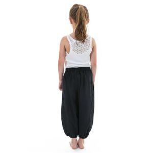 35c3bf3e22876 Pantalon Sarouel Fille