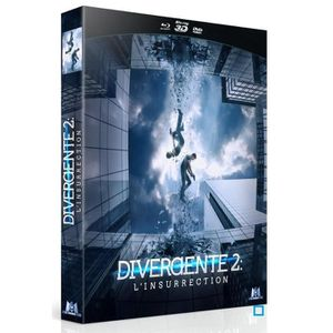 BLU-RAY FILM BLURAY 3D DIVERGENTE 2 COMBO COLLECTOR